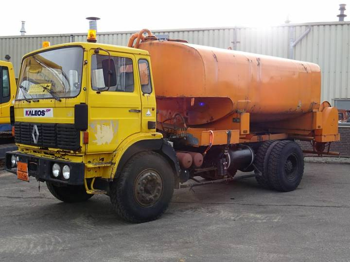 Renault GR 191 Watertank 12.000L Full Spring Big Axle Good Condition - 1985