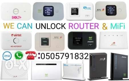 Wifi Router & MiFi Unlocking-(Open Line).