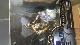 Star Wars R2-D2 and C-3PO statues