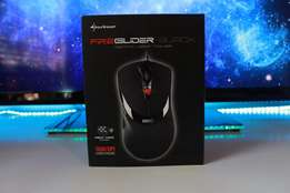 Sharkoon FireGlider Black Gaming Mouse