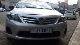 2013 Toyota Corolla 1.6 Available for Sale
