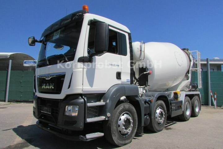 MAN TGS 32.400 8x4 - INTERMIX 9 m³ - DECKEL - Nr:038 - 2017