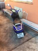 Vuka scooter for sale. With papers.