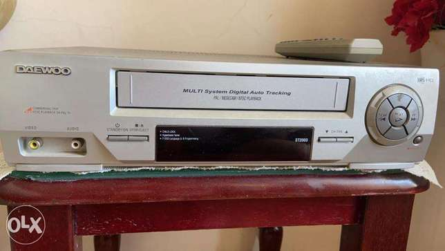 Daewoo VHS Video cassette player / recorder for sale