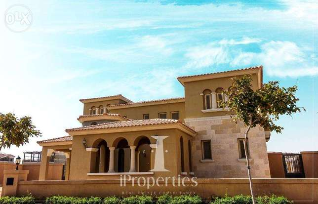 80% finished villa for sale in Mivida.