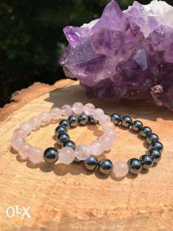 Natural stone bracelets for couples , Many kinds available on request