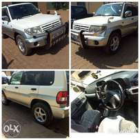 Mitsubishi pajero IO model 2000 white colour in excellent condition
