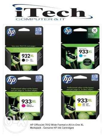 Ink 932&933) Hp office jet 7612 )