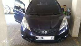 Quick sale dark purple Honda FIT KCM newly imported fully loaded