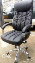 Durable office executive swivel leather chair
