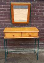 Wood Dressing Table - Used Once