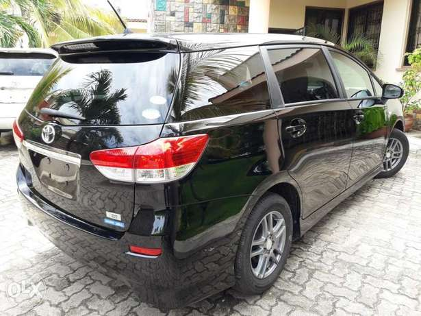 Choices of Black n Silver Toyota Wish 2010 KCP number Mombasa Island - image 3