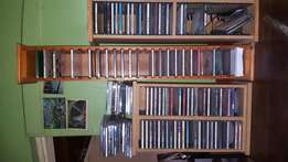 Cd rack with cd s