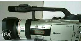 Canon Xm2 camcorder for sale with charger and 2 batteries.
