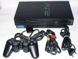 Ps2 console with accesories