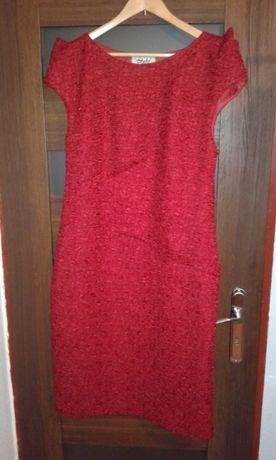 a699a64f64 Sukienka wieczorowa midi rozmiar 44-46 stan bardzo dobry Łęczna - image 1