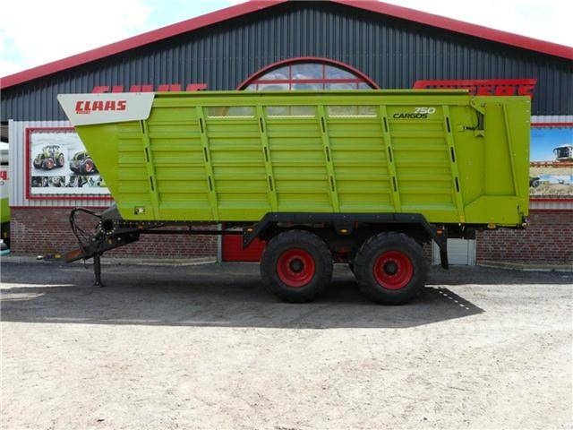 Claas Cargos 750 - 2016