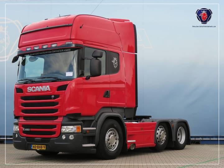 Scania R450 LA6X2/4MNA   PTO   SCR-only - 2016