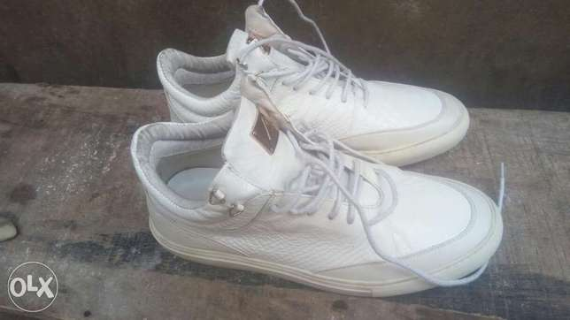 Original masoti leather sneaker Benin City - image 3