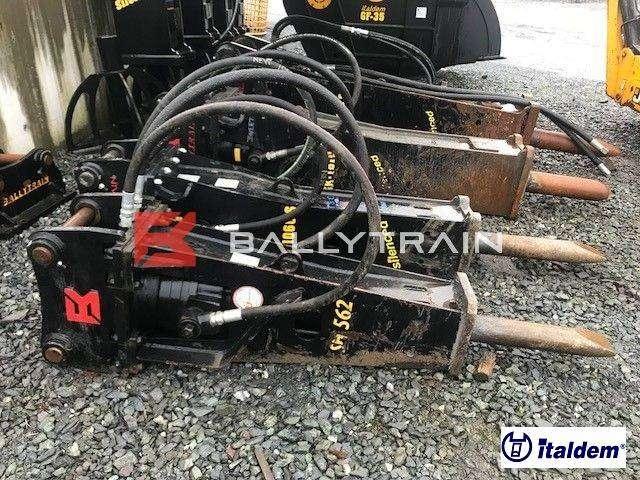 Italdem Sh562 Used Rock Breaker (10-13t) - 2018