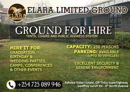 Ground for Hire
