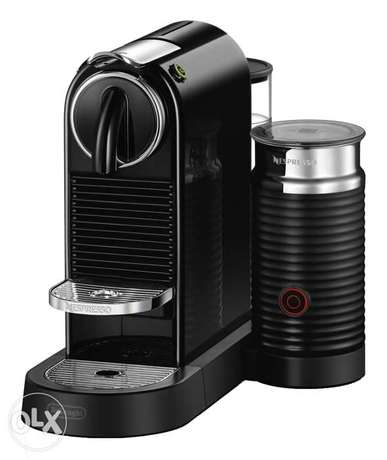 Nespresso citiz limited edition with milk frother