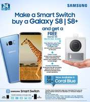Special Offer Buy Samsung S8 or S8+ Get A Free Starter Kit