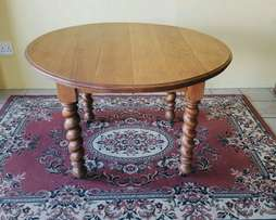 Oak 5 seater Antique Dining Table