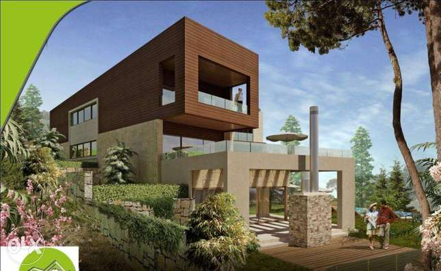 Apartment for sale - Ajaltoun 312m2+230m2 garden-under construction-