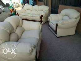 Leather sofas on offered price