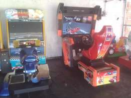 Arcade games,water slide,karaoke machine, Pa system for hire