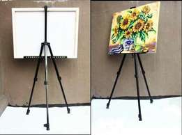 Artist Aluminum Alloy Folding Paint Sketching Easel Adjustable Tripod