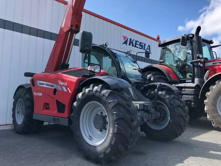 Massey Ferguson th7038 - 2018