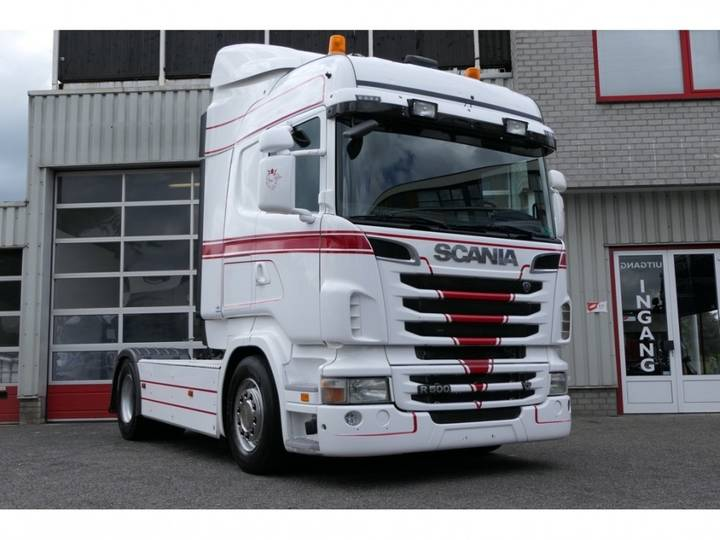 Scania R500 HIGHLINE EURO 5 OPTICRUISE LEATHERSEATS VERY CLEAN - 2011