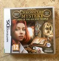 Chronicles Mystery - Curse of the ancient temple, Nintendo DS game