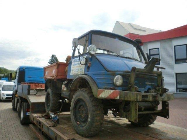 Unimog U 406 4x4 - 1971