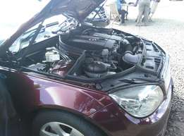 2009 Brand new wine Red Mercedes Benz. 2000cc and its fully loaded