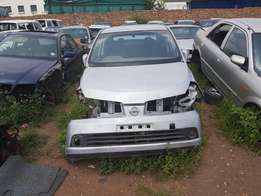 Nissan Tiida Striping for Spares