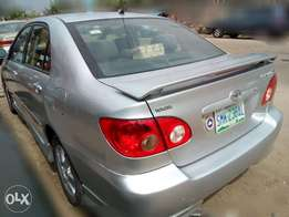 Sweet Smelling 2005 Auto Toyota Corolla Sport for sale at fair price