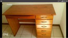 Beautiful Cherry Wood Desk Available for Sale