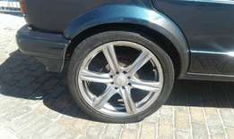 Mags with tyres for sale 17 inch