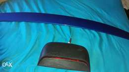 chevy aveo boot spoiler nd brake light for sale in durban