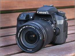 Canon eos 70D with 18-55mm lens