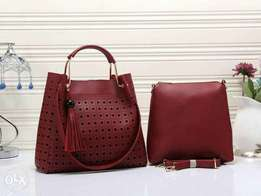 2in1 leather handbags