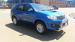 2012 Toyota Fortuner 2.5 D4D Raised Body