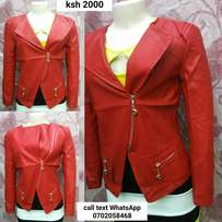 Red jacket medium