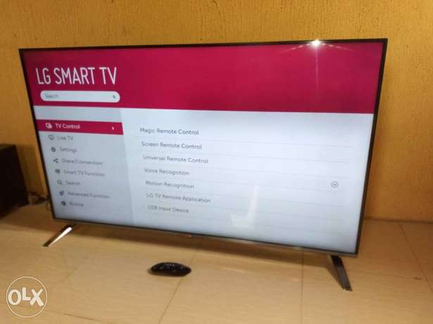 "2016 frameless LG 55"" CINEMA 3D Smart TV with webOS, miracast,wi-fi Alimosho - image 3"