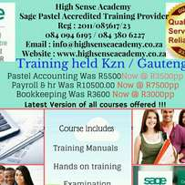 Pastel Accounting training courses