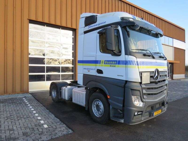 Mercedes-Benz Actros 1845 Bigspace Euro 6 mit hydraulick !!! - 2013 - image 2