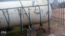Complete cooking Gas Tank plus Accessories for sale .